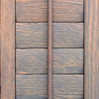 Distressed Pine Shutter