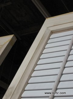 Close up of door, showing special custom stile/rail configuration