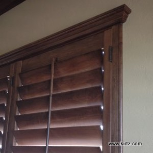 Details such as finished returns and extra wide case enhance these plantation shutters