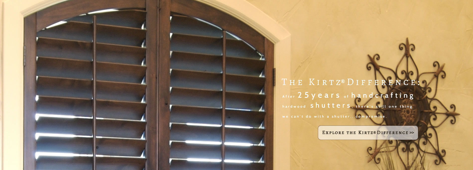 Kirtz Plantation Shutters Custom Interior Shutters