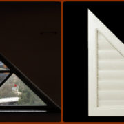 Rake Shutter- Custom Shaped Shutters