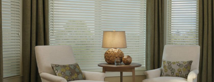 Wood blinds as an alternative to plantation shutters for Alternative to plantation shutters