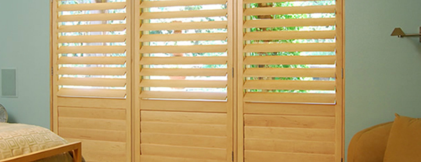 Plantation Shutters- Bedroom