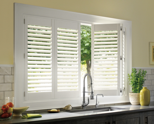 Double Plantation Shutters? Yes, Please!